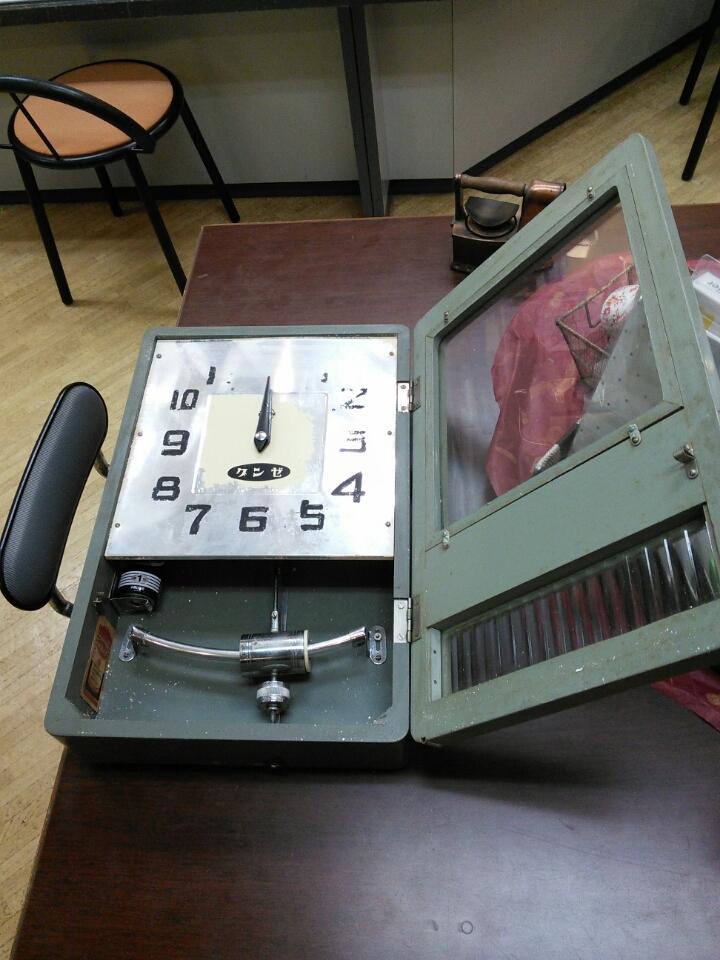 トランジスタ時計のオーバーホール